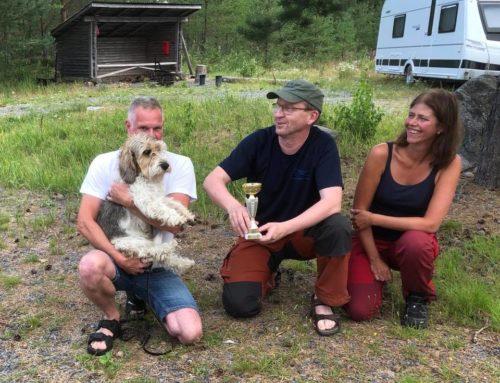 """ISMANS DIANA 1:a pris Finska """"Spårprov för Jakthundar"""""""