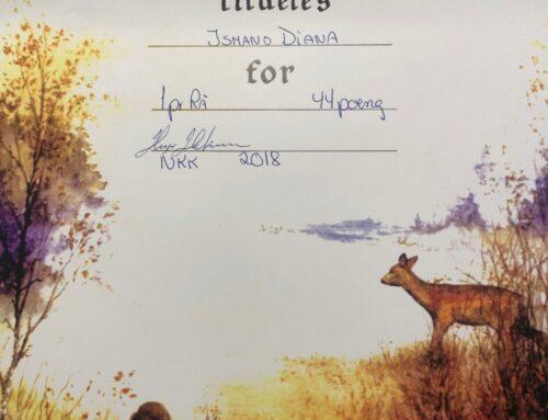 1:a pris på jaktprov Norge